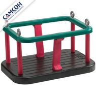 Качели-кресло на цепях обрезиненные металлические САМСОН, фото 1