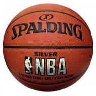 SPALDING NBA SILVER INDOOR/OUTDOOR, фото 1