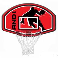 Щит для игры в баскетбол AND1 JUNIOR BACKBOARD AND GOAL COMBO, фото 1
