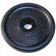 MB Barbell Евро-классик диск 10 кг, фото 1