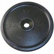MB Barbell Евро-классик диск 20 кг, фото 1