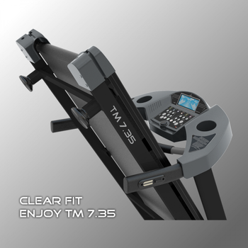 Беговая дорожка CLEAR FIT ENJOY TM 7.35 HRC, фото 10