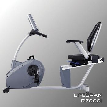 Горизонтальный электромагнитный велотренажёр LIFESPAN R7000i, фото 6